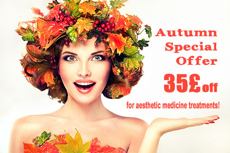 Treat yourself to an aesthetic medicine treatment this autumn!